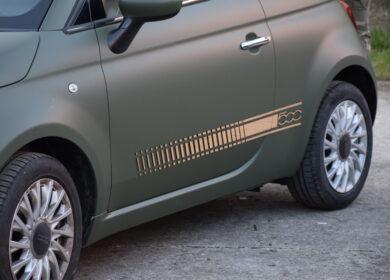 Car Wrap Fiat 500 Lounge